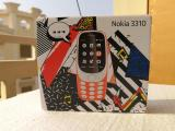 HMD Global's Nokia 3310 n closed packaged box - front view