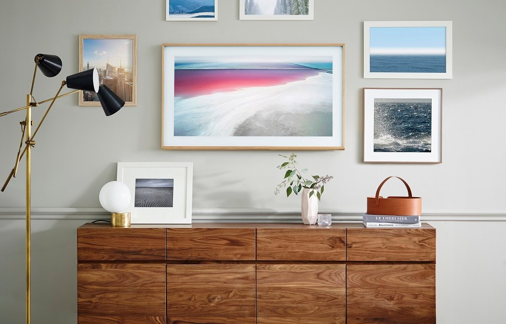 "Samsung launched the latest smart television ""The Frame"" with showcase of artists & their work Dubai, UAE"