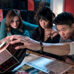Wish Upon - (l-r.) Joey King stars as Claire, Alice Lee as Gina and Ki Hong Lee as Ryan in WISH UPON, a Broad Green Pictures release.Credit: Steve Wilkie / Broad Green Pictures
