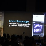 Samsung Galaxy Note8- Live messaging