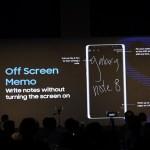 Samsung Galaxy Note8 - Off Screen Memo