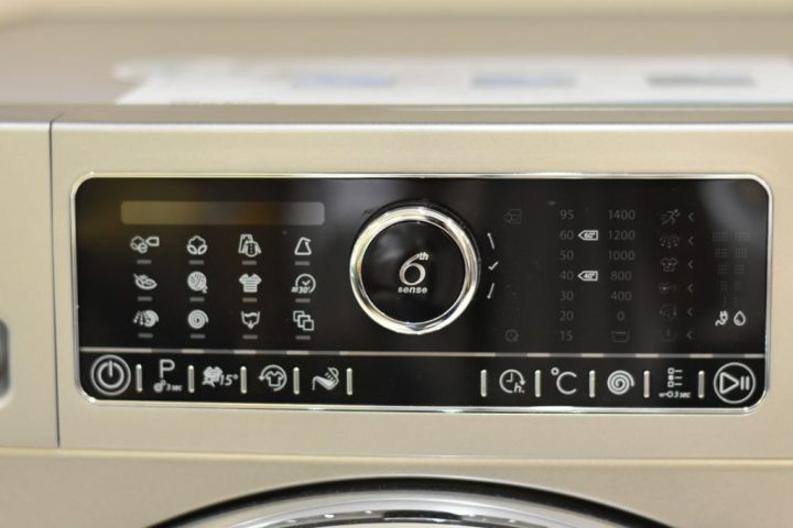 Whirlpool 6th Sense-Washing Machine- menu