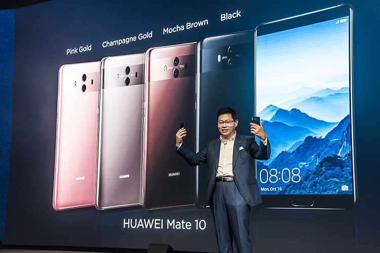 Huawei launches Mate 10 series smartphones with world's first Kirin AI processor