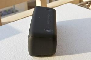 Sony XB40 wireless speaker -side view