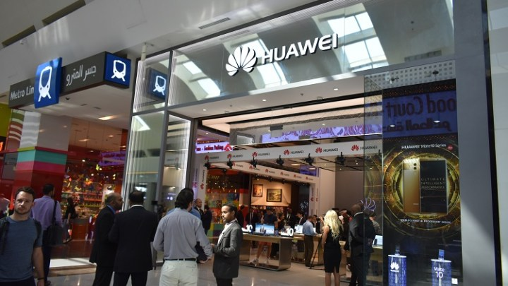 Huawei Consumer Business Groupopened their first Huawei 'Experience Store' in the Middle East and Africa in Dubai Mall.