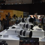 Sony Lens on Display