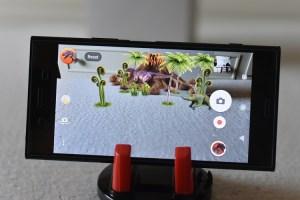 Sony Xperia XZ1 - Animated AR effect