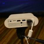 BenQ- Portable projector - Back panel