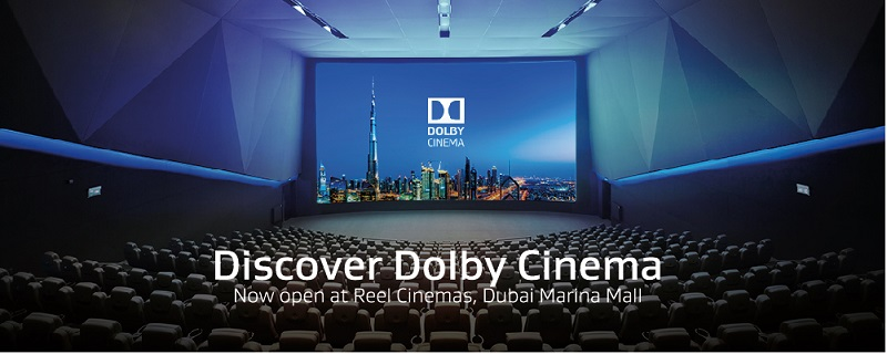 Dolby Atmos® theater in Reel Cinemas in Marina Mall
