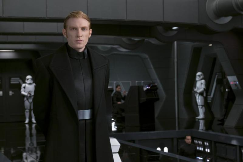 General Hux - acted by Domhnall Gleeson