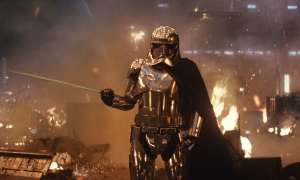 Gwendoline Christie as Captain Phasma in Star Wars -the Last Jedi