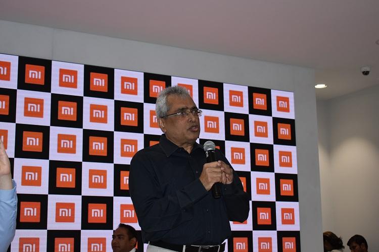 Ravi Mathew, Chief Operation Officer of TASK FZCO: Addressing the Press