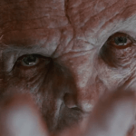 Supreme Leader Snoke acted by Andy Serkis