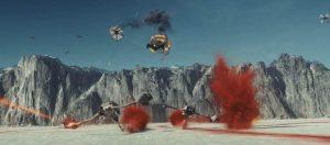 The battle on planetCrait