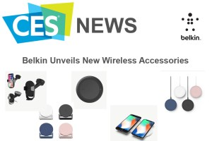 Belkin Unveils Wireless Accessories in CES 2018