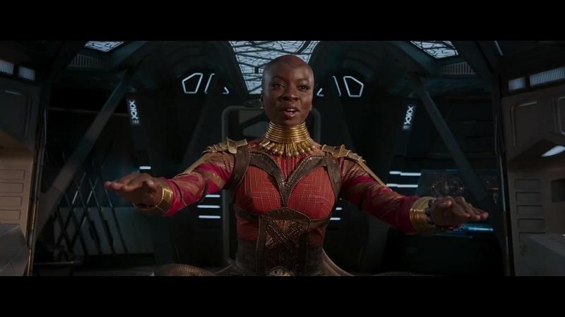 Okoye - Danai Gurira in Black Panther