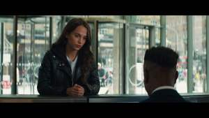 Alicia Vikander (Lara Croft) in Tomb Raider 2018