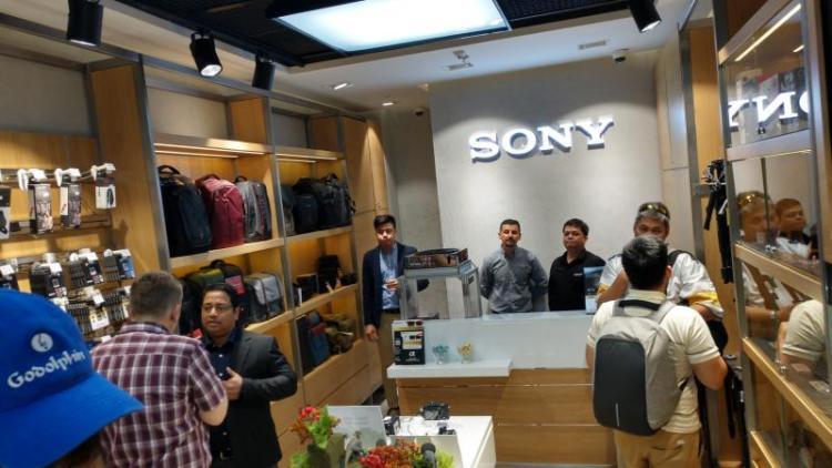 New Sony Showroom with Kansas in MOE, Dubai, UAE