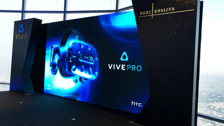 HTC VIVE launches HTC VIVE Pro in partnership with Burj Khalifa (Emaar)