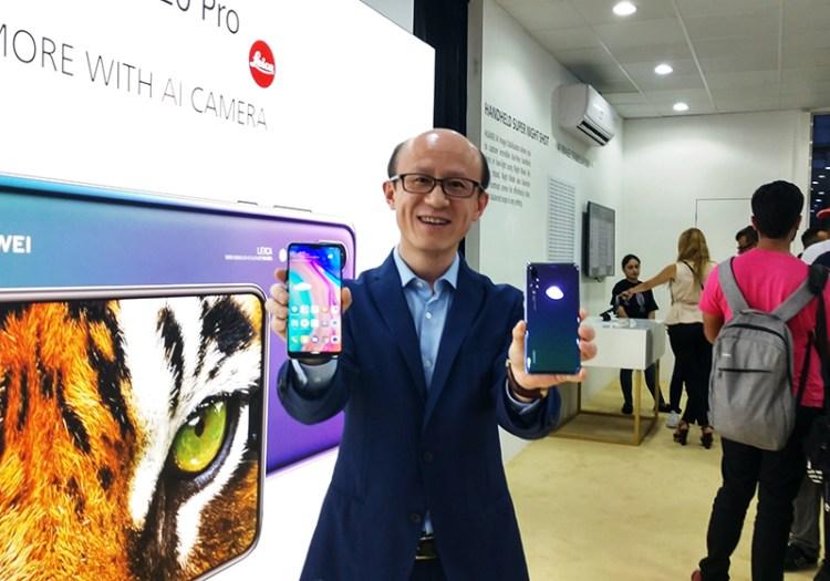 Mr.-Gene-Jiao,-President-of-Huawei-CBG-MEA-at-the-launch-of-Huawei-P20Pro