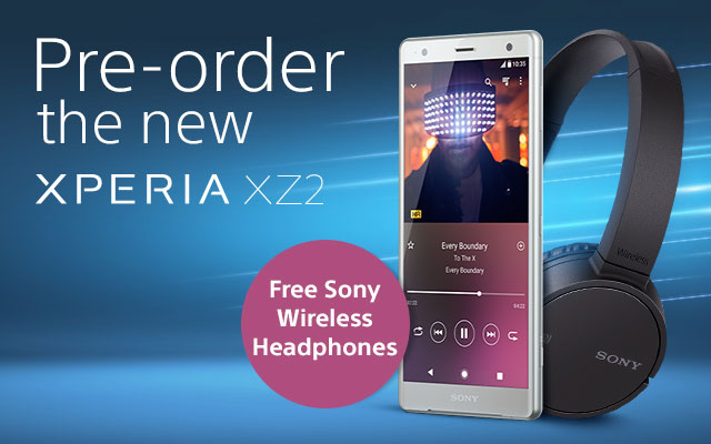 Sony Mobile soon to launch Sony Xperia XZ2 smartphone and pre-order booking is on