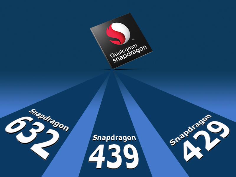 Qualcomm Announces Three New Snapdragon Mobile Platforms – 632, 439 & 429 Chipsets