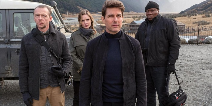 Mission Impossible - Fallout - Tom Cruise, Simon Pegg, Rebecca Ferguson & Ving Rhames
