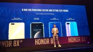 History of Honor Smartphones