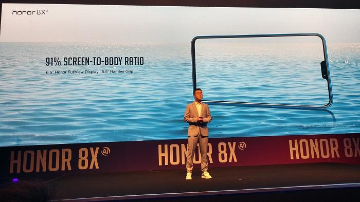 Honor 8x_Smartphone_ Body ratio