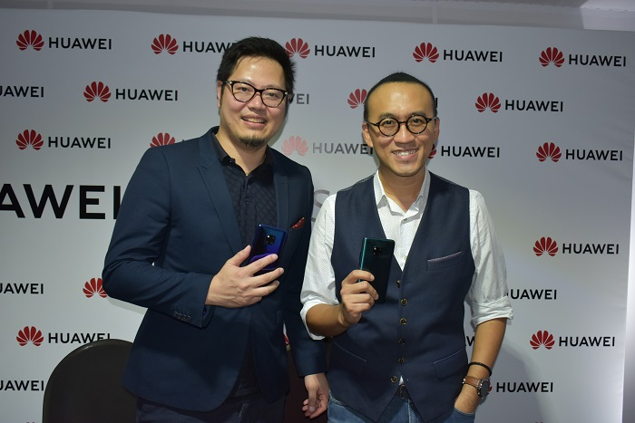 Jason Chen & Clement Wong at Press conference