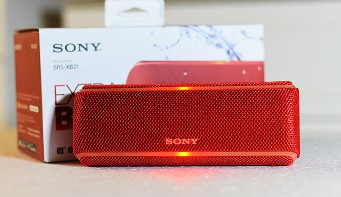 Review of Sony Speaker- SRS-XB21 (Portable Wireless Bluetooth Speaker)