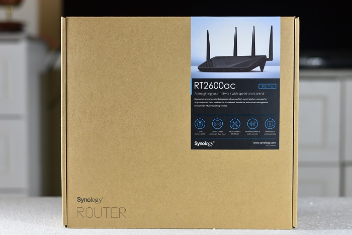 Synology- RT2600ac- Package