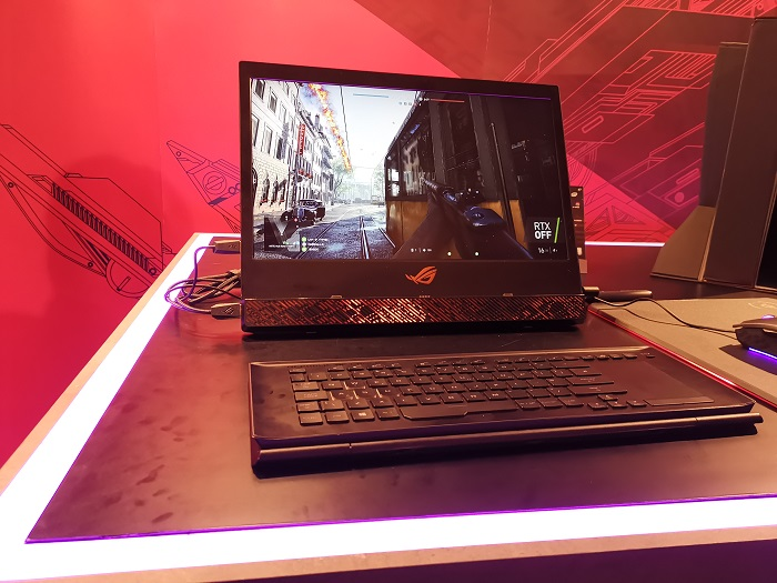ASUS Republic of Gamers showcases the Mothership & Zephyrus S to the Middle East