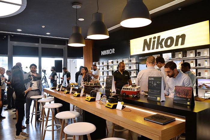 Nikon Experience Zone' at Grand stores in Garhoud, Dubai.