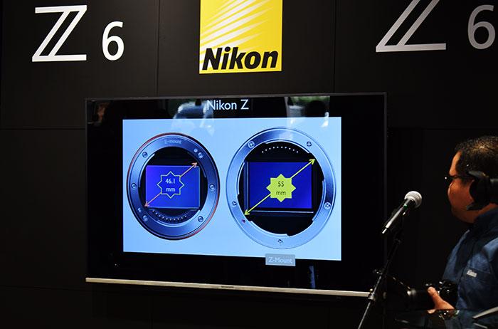 Nikon-Z-Mount_comparison to other brand