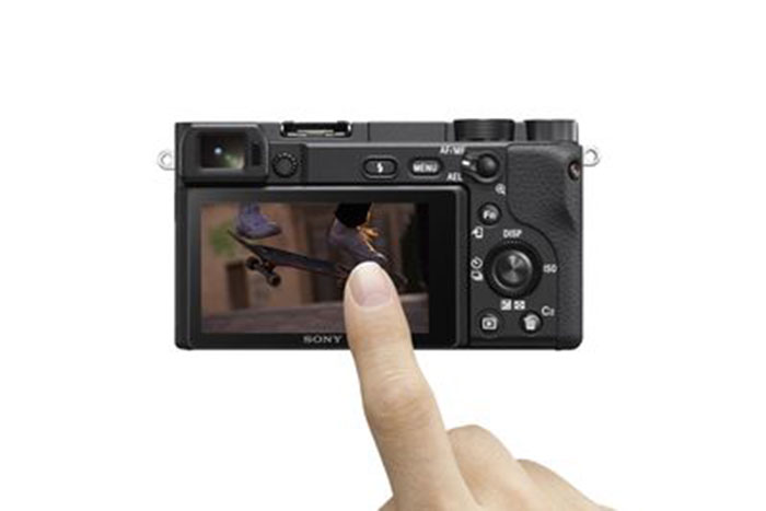 Sony α6400-Touch-screen