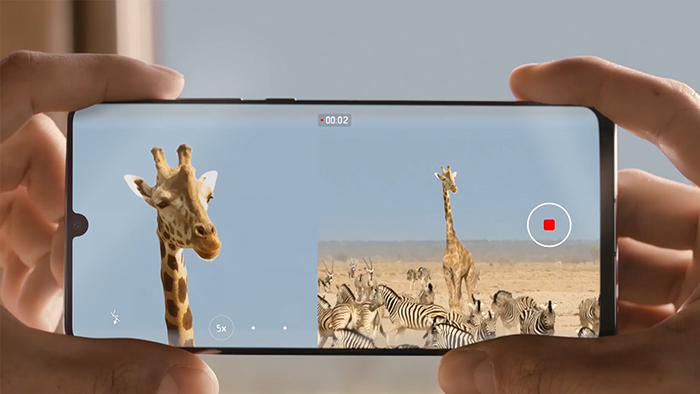 HUAWEI P30 and P30 Pro's Dual-View Video Now Available for users