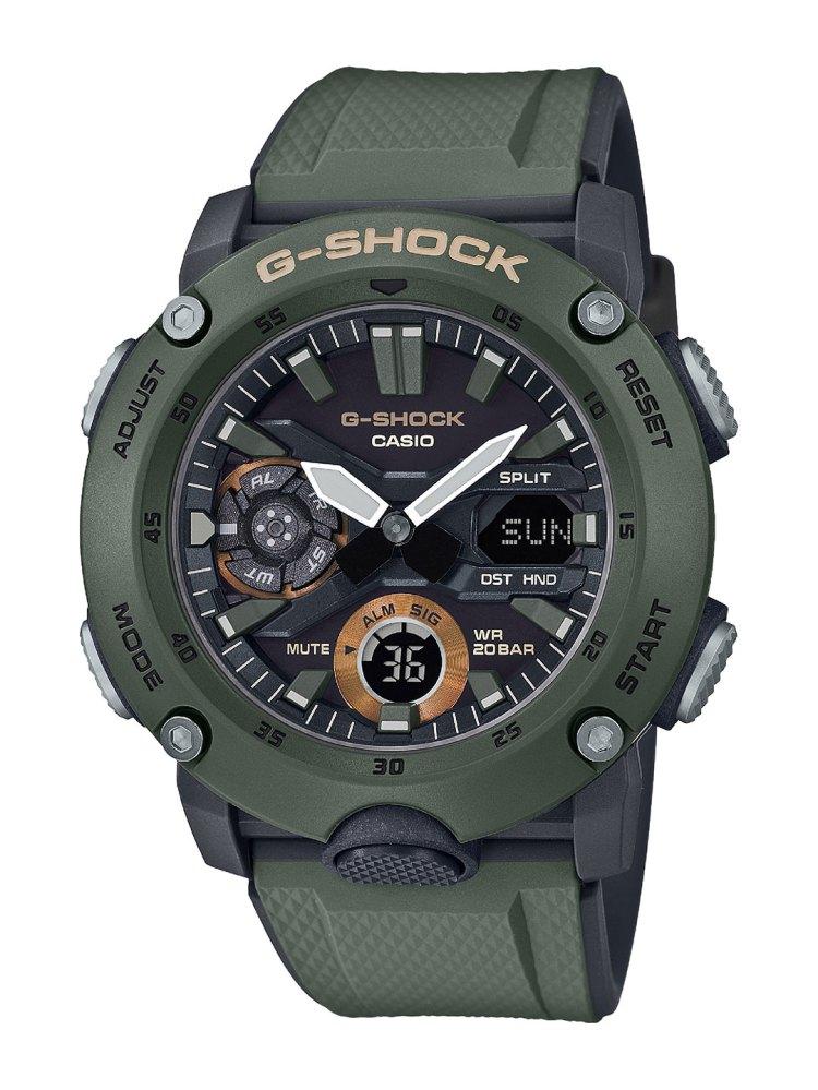 G-SHOCK-GA-2000-Military-Color-Olive-Green