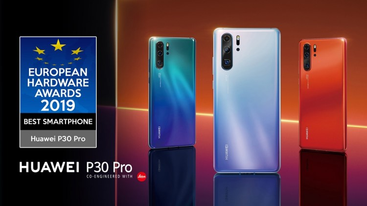 HUAWEI P30 Pro announced best smartphone of 2019 by the