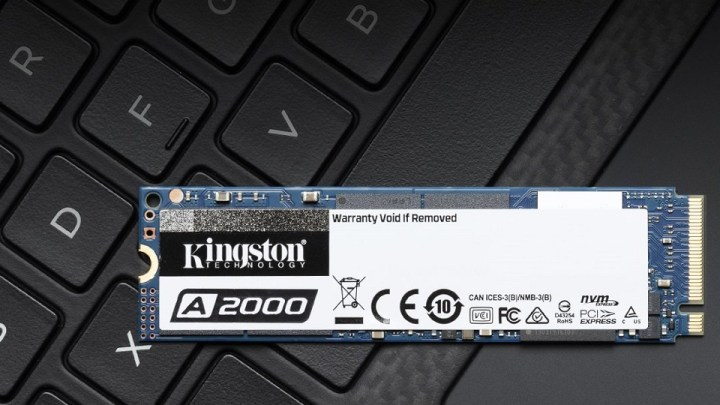 Kingston Digital Introduces Next-Gen A2000 NVMe PCIe SSD