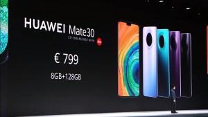 Huawei Mate 30 Launch Price