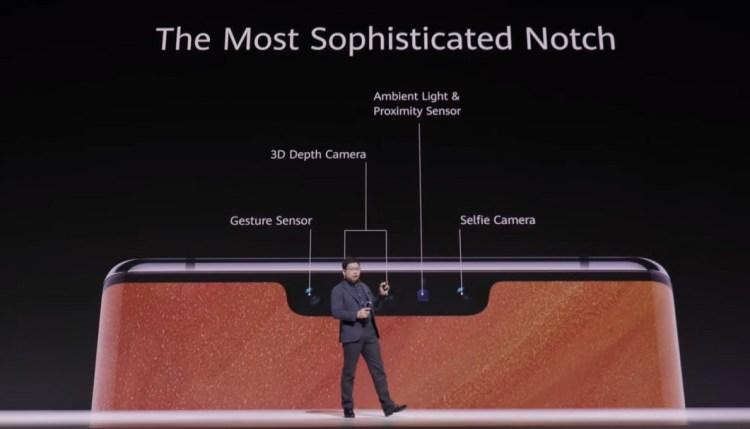 Huawei Mate 30 Pro – Notch-Details