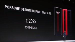 Huawei Mate 30 RS- Price
