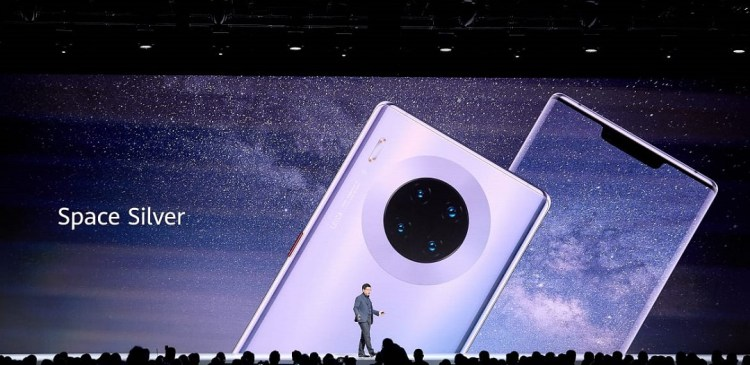 Huawei Mate 30 Series - Halo Ring Design
