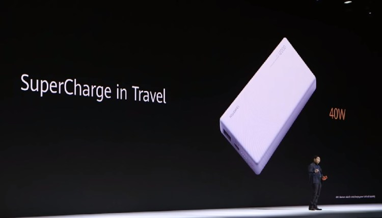 Huawei SuperCharge in Travel – Battery pack