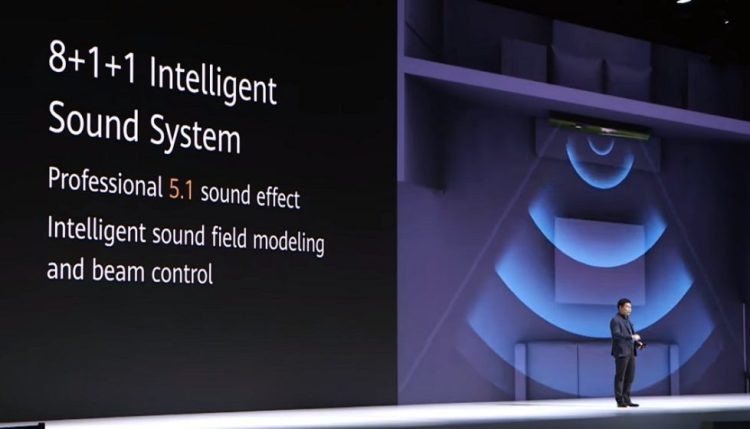 Huawei Vision- 5.1sound effect