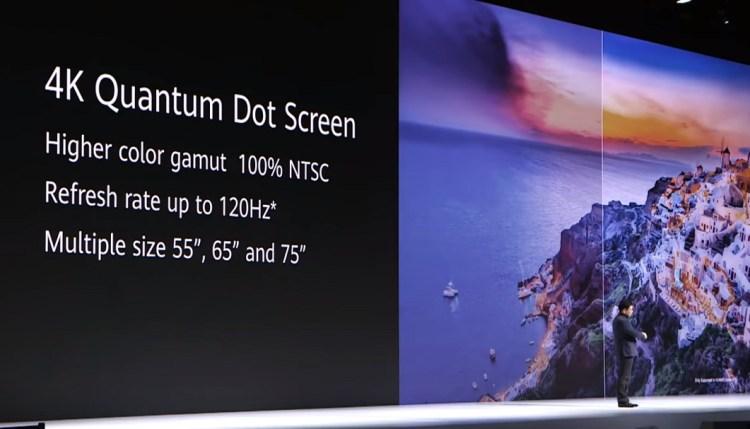 Huawei Vision-display – details