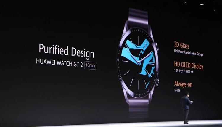 Huawei Watch GT2-details