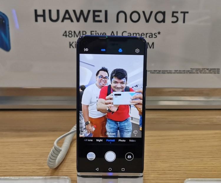 Huawei Nova 5T Smartphone-Front Camera 32MP