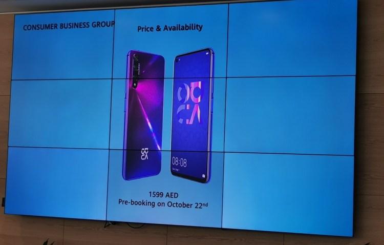 Huawei Nova 5T Smartphone launch price
